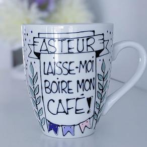 Asteur laisse-moi boire mon café