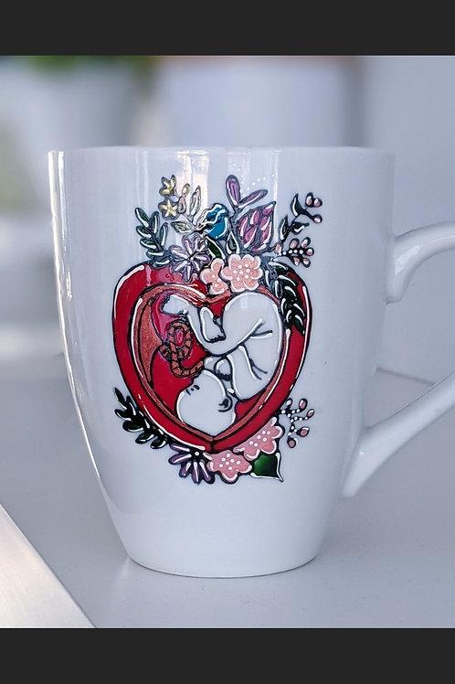 "Tasse ""Amour maternel"""