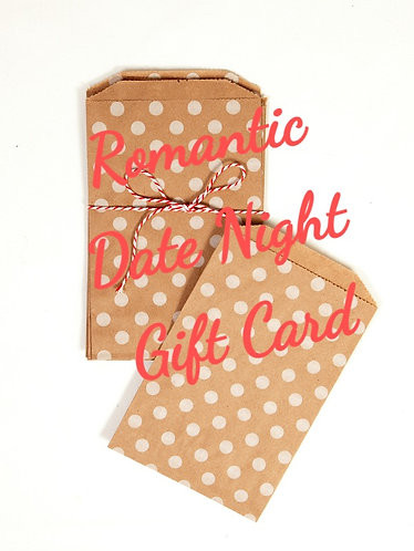 Romantic  Date Gift Card