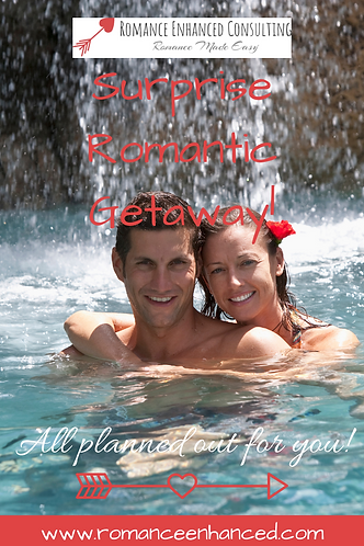 How to be romantic?  Let a Romance Coach help plan the perfect romantic getaway for your sweetheart! Romantic getaway plans