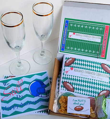 The Touchdown Football Bedroom Game Gift that is sent to you, gift for his birthday,  Romantic Football gift for him