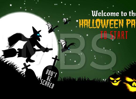 Halloween Start Screen