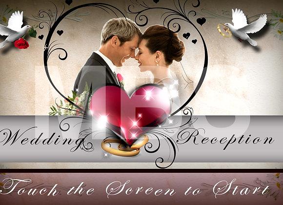 Classical Wedding Start Screen