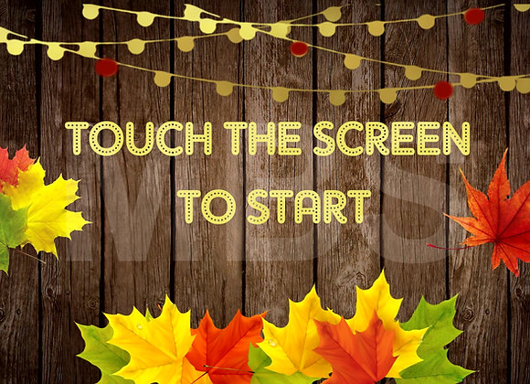 Fall Leaves Start Screen