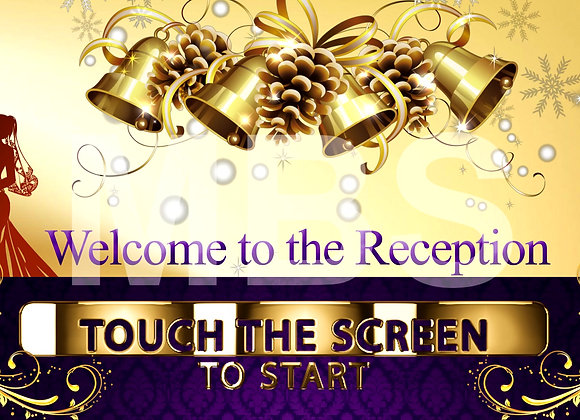Golden Wedding  Start Screen