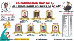 Foundation Nov 2018