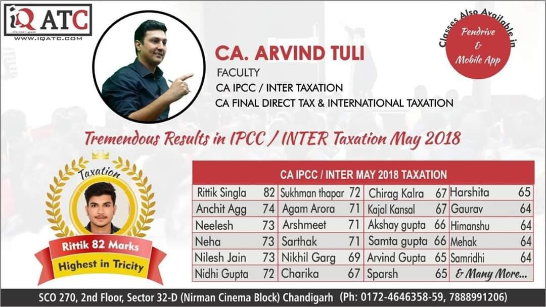 Inter Tax May 2018