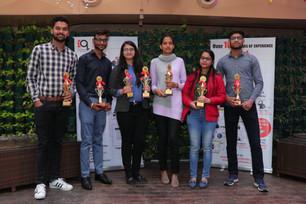 Felicitation of Rank Holders