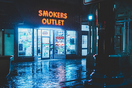 Smokers Outlet - Memphis Night Photography