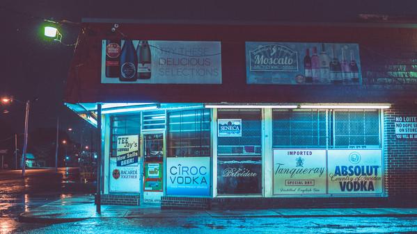 Memphis Store - Memphis Night Photography