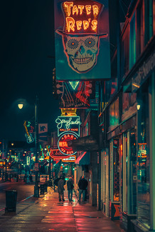 Down on Beale - Memphis Photography