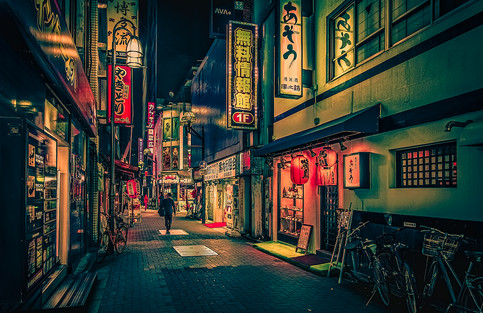 Suspiria de profundis - Tokyo Street Photography