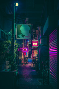 Night Stroll IV - Japan Photography