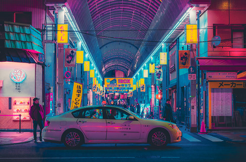 Electric Dreams - Japan Photography