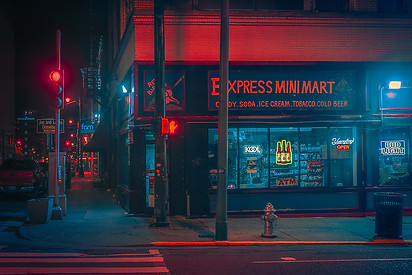 Mini Mart - Memphis Photography