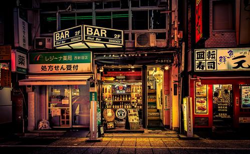 Midnight Noir - Tokyo Photography