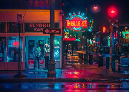 On Beale II - Memphis Photography