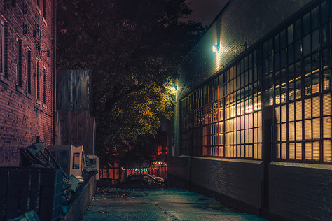 Moody Night - Memphis Photography