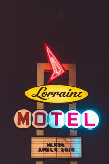 Lorraine Motel III - Memphis Photography