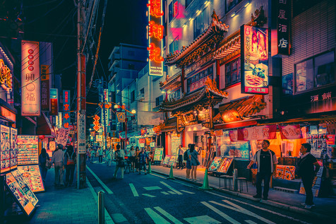 Electric Dreams III - Japan Photography