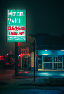 Mercury Valet - Memphis Tennessee Photography