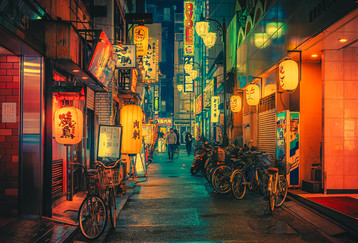 Road of Gold IV - Japan Photography