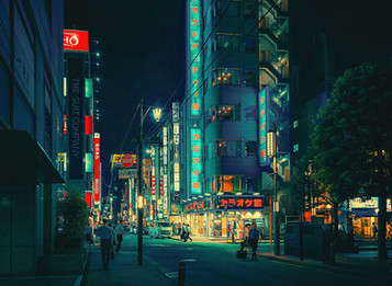 Neonfantaji (Neon Fantasy) - Tokyo Street Photography