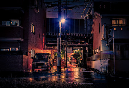 After the Rain - Japan Photography