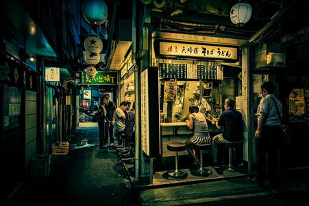 Late Night Scene - Tokyo Street Photography
