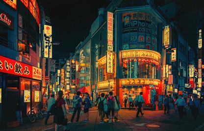 Shinjuku - Tokyo Street Photography