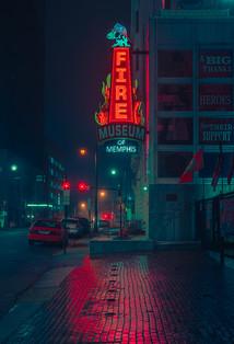 Fire Muesem - Memphis Photography