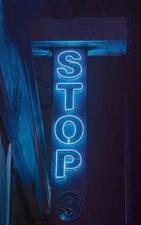 Stop Sign - Memphis Photography