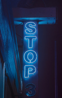 Stop Sign - Memphis Photography