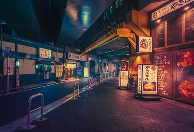 Under the Train Tracks - Tokyo Street Photography