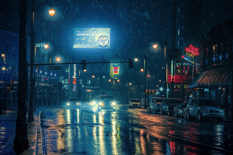 Memphis_Tennessee_Snow_Night