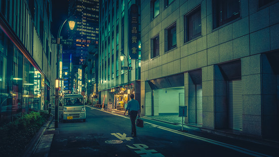 The Grid- Tokyo Japan Photography