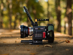 Red Epic-W on a Prestige Pictures set