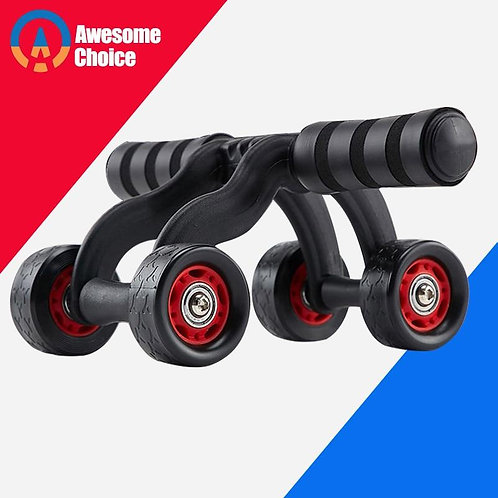 4 Wheels Abdominal Roller for Muscle Exercise Equipment