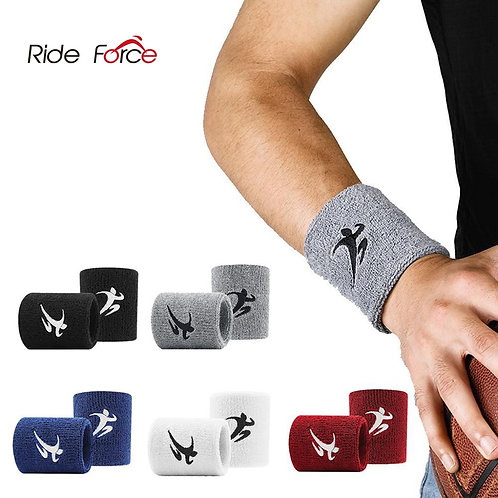 Cotton Elastic Wristbands Gym Fitness Gear  Weightlifting Wrist Wraps