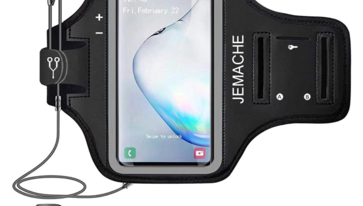 Workouts Phone Arm Band Case for Samsung Galaxy Note 8 9 10 Plus, Galaxy S 20