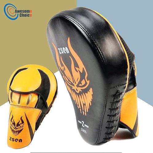 Pair of Martial Arts Boxing Training Target Mitt Focus Pad Sandbags