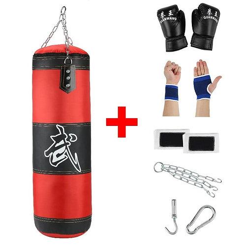 Empty Boxing Sandbag Home Fitness