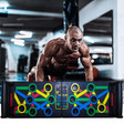 Multifunction Push Up Rack Board This Push Up Rack Board is a Comprehensive push up training system