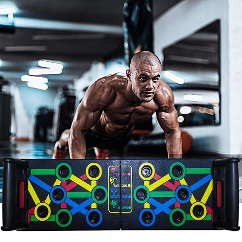 14 in 1 Multi Function Push Up Rack Training Board