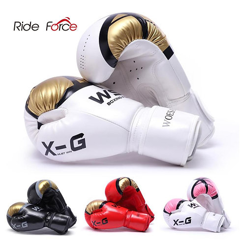 Kick Boxing Gloves (Unisex) PU Karate Free Fight MMA Sanda Training Equipment