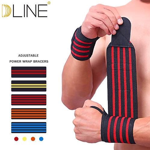 Sports Gym Power Training Bracers Wrister Weightlifting Wrist Protector cuff