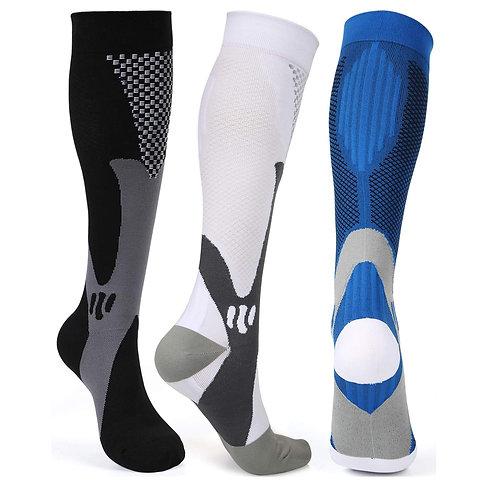 Brothock Compression Socks Nylon Medical Nursing Stockings Cycling Breath Socks