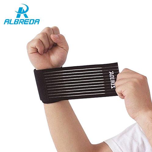 Elastic Bandage Wristband Gym Support Brace Wrap  Cotton Band Fitness lifting