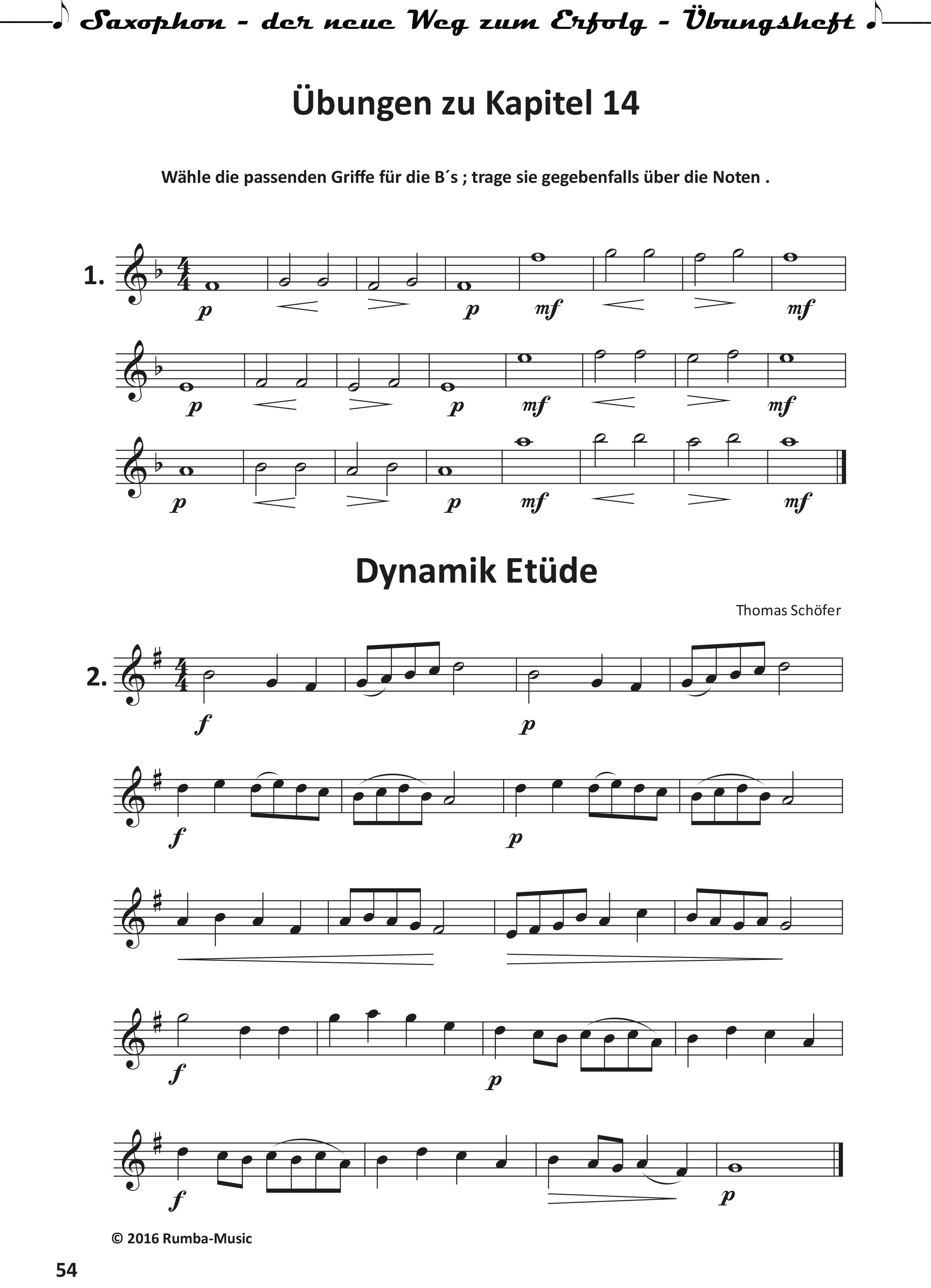 Saxophon-der neue Weg zum Erfolg- Uebungsheft-54