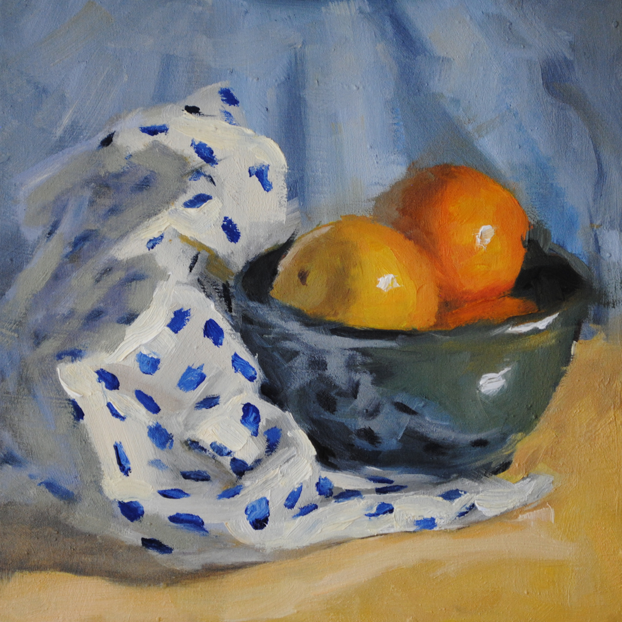 Bowl of Grapefruit